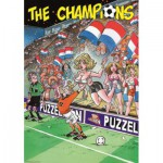 PuzzelMan-025 Jigsaw Puzzle - 1000 Pieces - The Champions : Fans