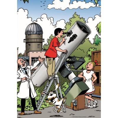 PuzzelMan-040 Jigsaw Puzzle - 1000 Pieces - Astronomy Lesson