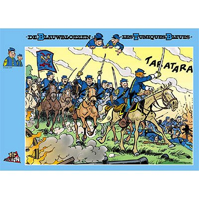 PuzzelMan-041 Jigsaw Puzzle - 1000 Pieces - The Attack