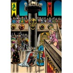 PuzzelMan-059 Jigsaw Puzzle - 1000 Pieces - The Knights' Court