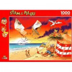 PuzzelMan-060 Jigsaw Puzzle - 1000 Pieces - Sunset