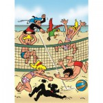 PuzzelMan-074 Jigsaw Puzzle - 99 Pieces - Beach Volley