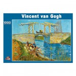 PuzzelMan-086 Jigsaw Puzzle - 1000 Pieces - Van Gogh : The Langlois Bridge at Arles