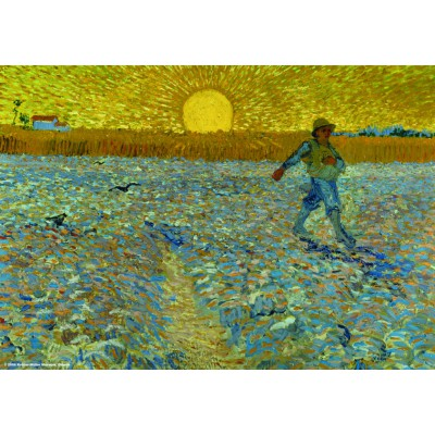 PuzzelMan-087 Jigsaw Puzzle - 1000 Pieces - Van Gogh : The Sower