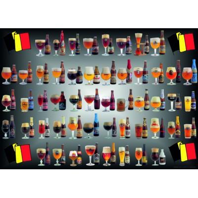 PuzzelMan-095 Jigsaw Puzzle - 1000 Pieces - Belgian beers