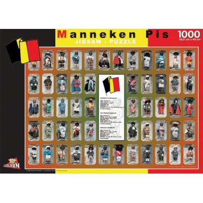 Puzzle PuzzelMan-096 Belgium: Manneken Pis