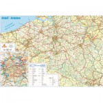 PuzzelMan-107 Jigsaw Puzzle - 1000 Pieces - Belgium Map