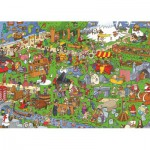 PuzzelMan-121 Jigsaw Puzzle - 1000 Pieces - Each his own Europe