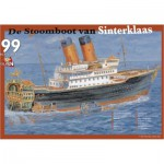 PuzzelMan-122 Jigsaw Puzzle - 99 Pieces - The Steamboat