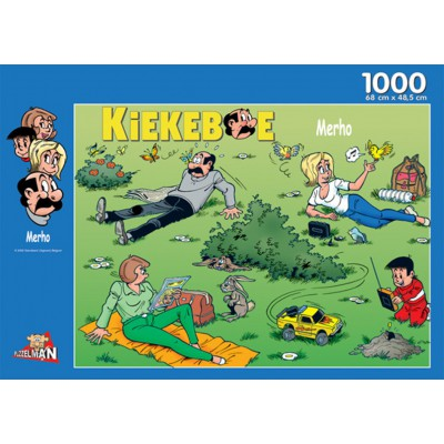 PuzzelMan-144 Jigsaw Puzzle - 1000 Pieces - A Quiet Day