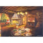 Puzzle  PuzzelMan-186 The one Christmas Eve lounge