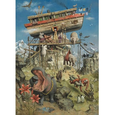 Puzzle PuzzelMan-262 Marius van Dokkum: Noah's Ark
