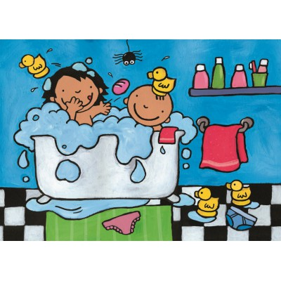Puzzle PuzzelMan-268 Noa: In the bathroom