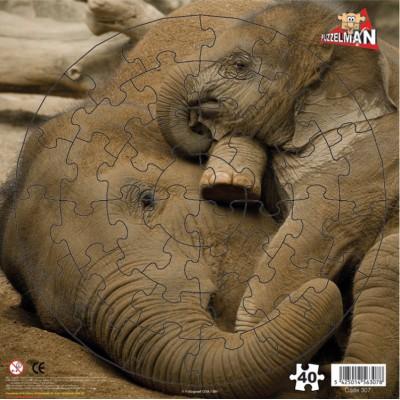 Puzzle PuzzelMan-307 Baby elephant