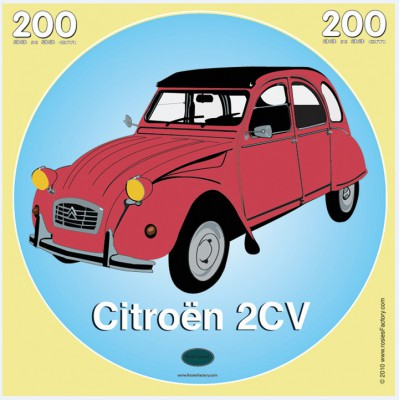 Puzzle PuzzelMan-311 Rosies Factory : Citroën 2 CV