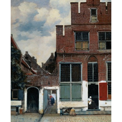 Puzzle PuzzelMan-386 Collection Rijksmuseum Amsterdam - Johannes Vermeer: The Little Street