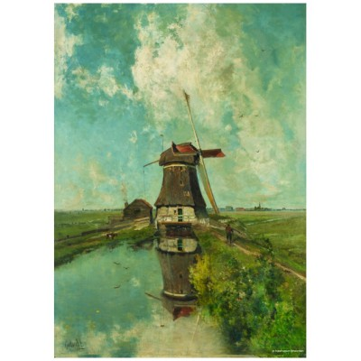 Puzzle PuzzelMan-387 Collection Rijksmuseum Amsterdam - Paul Gabriel: The mill