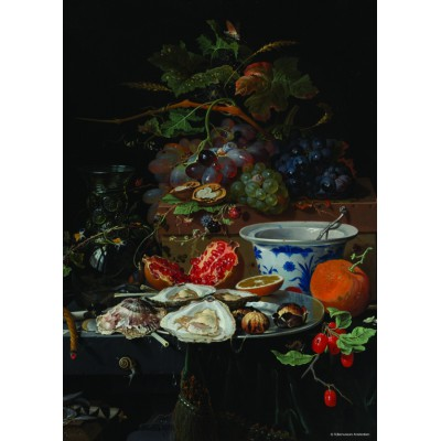 Puzzle PuzzelMan-391 Collection Rijksmuseum Amsterdam - Mignon: The Oysters