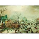 Puzzle  PuzzelMan-394 Collection Rijksmuseum Amsterdam - Hendrick Avercamp: Winter