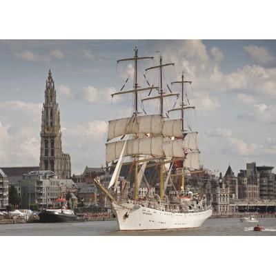 Puzzle PuzzelMan-405 Belgium: Antwerp