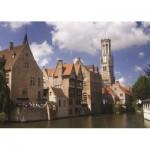 Puzzle  PuzzelMan-406 Belgium: Bruges