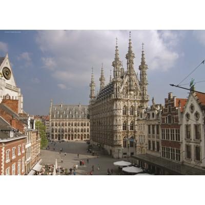 Puzzle PuzzelMan-409 Belgium: Louvain