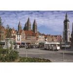 Puzzle  PuzzelMan-412 Belgium: Tournai