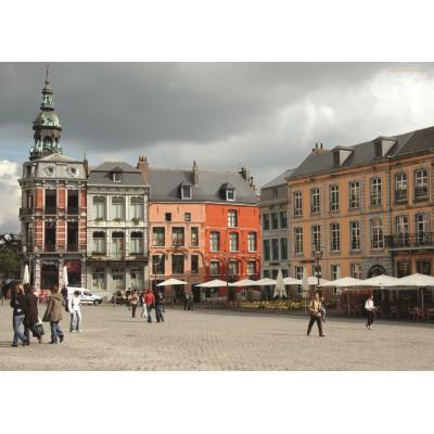Puzzle PuzzelMan-414 Belgium: Mons