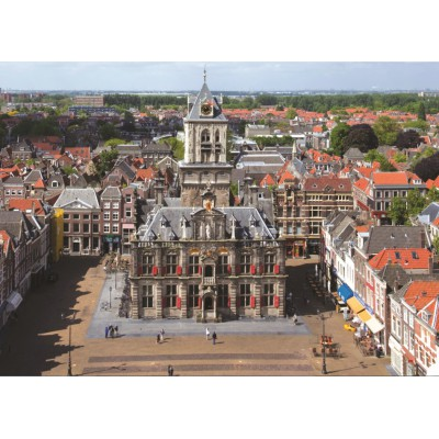 Puzzle PuzzelMan-425 Netherlands, Delft: Town Hall