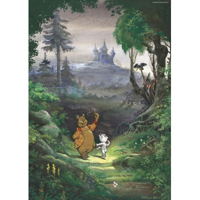 Puzzle PuzzelMan-455 Marten Toonder - Mr. Bommel: Into the Woods