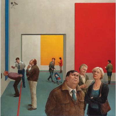 Puzzle PuzzelMan-493 Marius van Dokkum: Exhibition