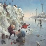 Puzzle  PuzzelMan-494 Marius van Dokkum: Ice Skates