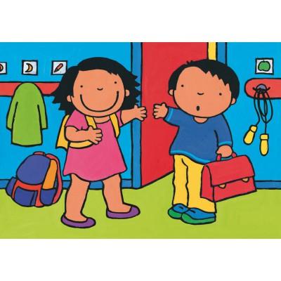 Puzzle PuzzelMan-508 Noa: At the school