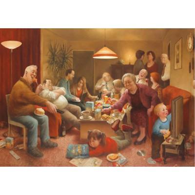 Puzzle PuzzelMan-560 Marius van Dokkum: The Family