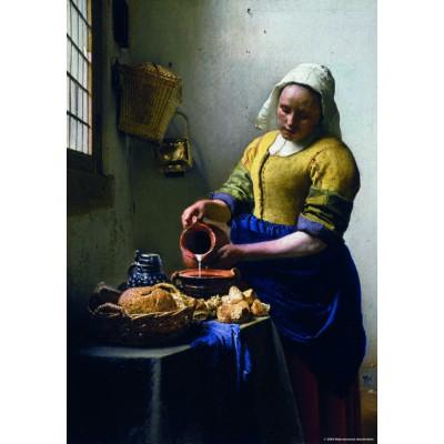 Puzzle PuzzelMan-570 Collection Rijksmuseum Amsterdam - Johannes Vermeer: The Milkmaid (mini pieces)