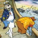 Puzzle  PuzzelMan-581 Marten Toonder - Mr. Bommel: Sea sickness