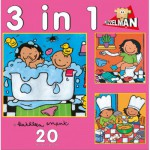 PuzzelMan-640 Noa : 3 puzzles in 1