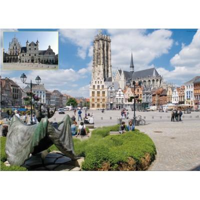 Puzzle PuzzelMan-643 Belgium: Malines