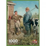 Puzzle  PuzzelMan-708 Marius van Dokkum: Discussion on the time