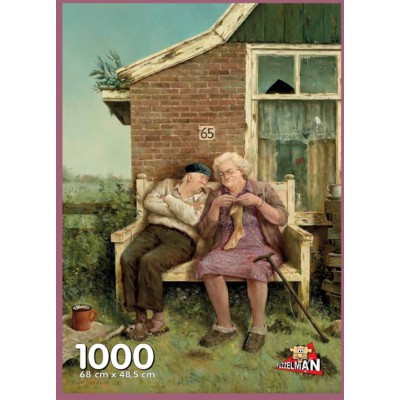 Puzzle PuzzelMan-709 Marius van Dokkum: The real love