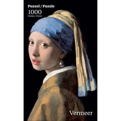 Puzzle PuzzelMan-762 Vermeer Johannes: Girl with the Pearl