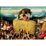 Puzzle  PuzzelMan-766 Bosch : Wheat Cart