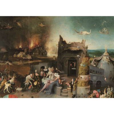 Puzzle PuzzelMan-768 Bosch : The Temptation of St Anthony