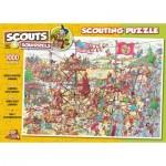 Puzzle  PuzzelMan-854 Rene Leisink - Scouting - Jamboree