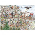 Puzzle  Puzzelman-875 Scouts & Squirrels - Into the Mountains