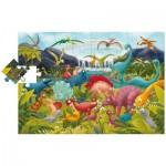 Ludattica-51373 Floor Puzzle - Dinosaurs