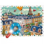 Puzzle  Ludattica-52462 XXL Pieces - City