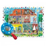 Ludattica-58259 XXL Jigsaw Puzzle - Baby Détective: My House