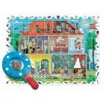 Puzzle  Ludattica-74822 XXL Pieces - Baby Detective - House