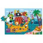 Puzzle  Ludattica-74877 XXL Pieces - Pirates